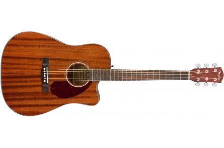 Fender CD-140SCE Dreadnought - Walnut Fingerboard - All-Mahogany w/Case