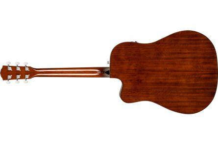 Fender CD-140SCE Dreadnought - Walnut Fingerboard - Sunburst w/case
