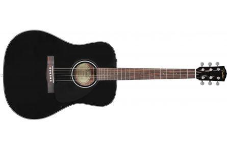 Fender CD-60 Dreadnought V3 DS - Walnut Fingerboard - Black