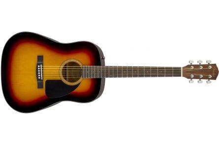 Fender CD-60 Dreadnought V3 DS - Walnut Fingerboard - Sunburst