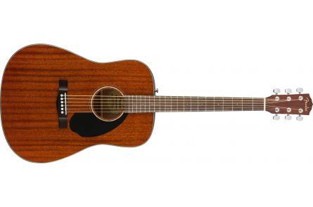 Fender CD-60S Dreadnought - Walnut Fingerboard - All-Mahogany