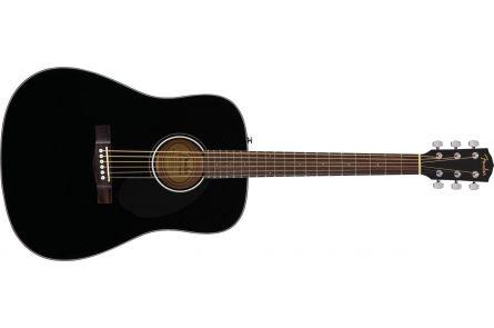 Fender CD-60S Dreadnought - Walnut Fingerboard - Black