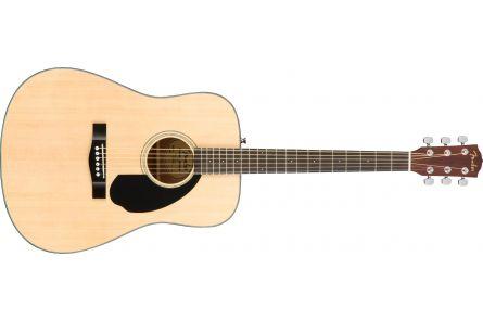 Fender CD-60S Dreadnought - Walnut Fingerboard - Natural
