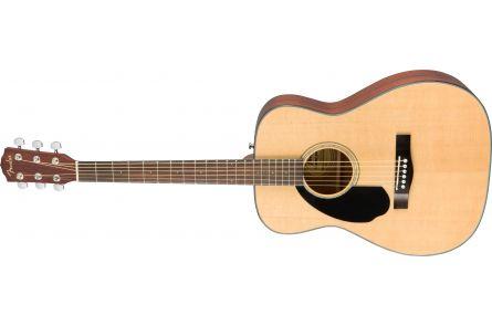 Fender CD-60S Left Hand - Walnut Fingerboard - Natural