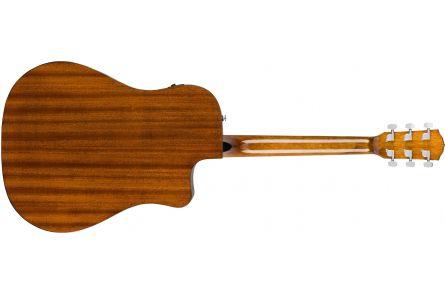 Fender CD-60SCE Left-Hand - Natural - Walnut