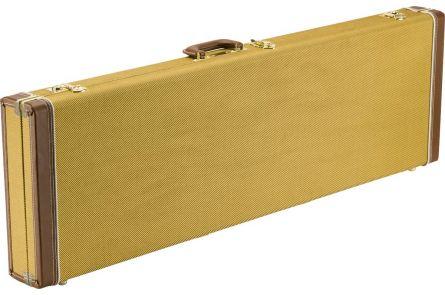 Fender Classic Series Wood Case - Precision Bass/Jazz Bass - Tweed