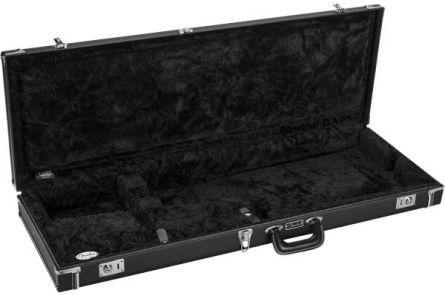 Fender Classic Series Wood Case - Strat/Tele - Black