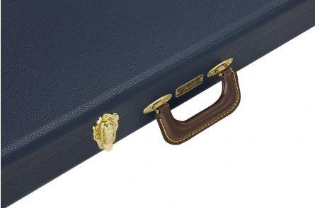 Fender Classic Series Wood Case Strat/Tele - Navy Blue