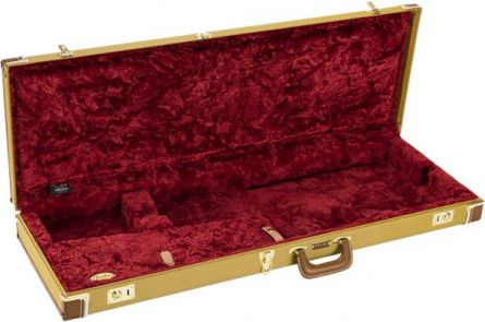 Fender Classic Series Wood Case - Strat/Tele - Tweed