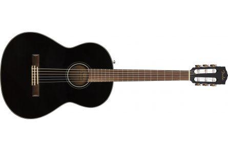 Fender CN-60S Nylon - Walnut Fingerboard - Black