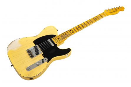 Fender Custom Shop '52 Telecaster Heavy Relic MN - Nocaster Blonde