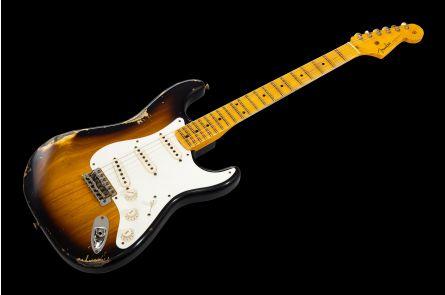 Fender Custom Shop '55 Stratocaster MN - 2-Tone Sunburst Relic