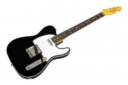 Fender Custom Shop '60 Telecaster Custom RW - Black DLX Closet Classic