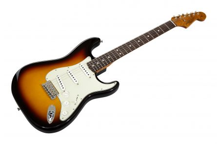 Fender Custom Shop '63 Stratocaster RW - Chocolate 3-TS DLX-CC Roasted Neck AAA Flame