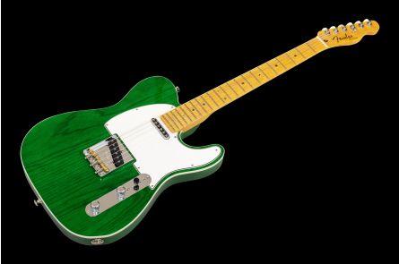 Fender American Custom Telecaster MN - Emerald Green Transparent - NOS