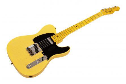 Fender Custom Shop 70th Anniversary Broadcaster Journeyman - Nocaster Blonde
