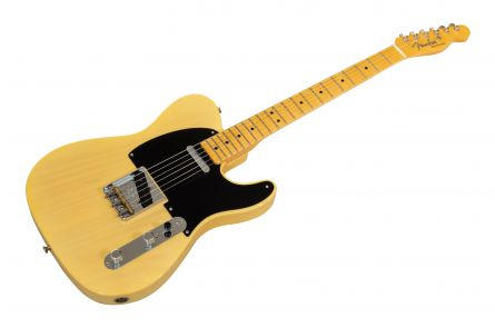 Fender Custom Shop 70th Anniversary Broadcaster TCP - Faded Nocaster Blonde