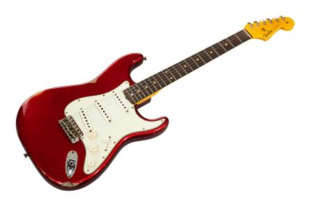Fender Custom Shop '60 Stratocaster Relic RW - Candy Apple Red