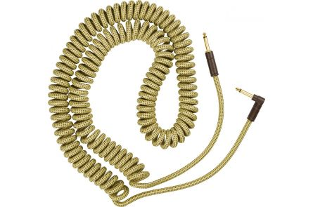 Fender Deluxe Coil Cable - 30' - Tweed