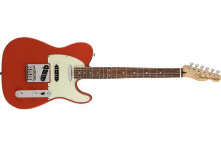 Fender Deluxe Nashville Telecaster - Pau Ferro Fingerboard - Fiesta Red