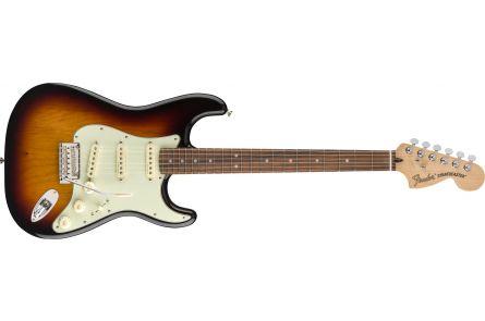Fender Deluxe Roadhouse Stratocaster - Pau Ferro Fingerboard - 3-Color Sunburst