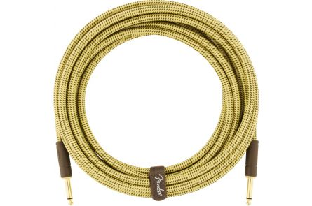 Fender Deluxe Series Instrument Cable - Straight/Straight - 10' - Tweed