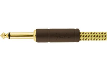Fender Deluxe Series Instrument Cable - Straight/Straight - 25' - Tweed