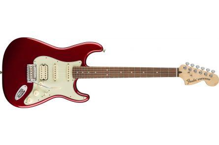 Fender Deluxe Stratocaster HSS - Pau Ferro Fingerboard - Candy Apple Red