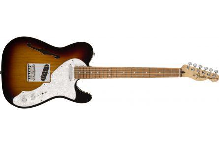 Fender Deluxe Telecaster Thinline - Pau Ferro Fingerboard - 3-Color Sunburst