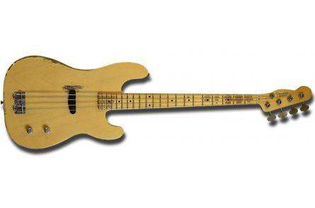 Fender Dusty Hill Signature Precision Bass MN - Nocaster Blonde