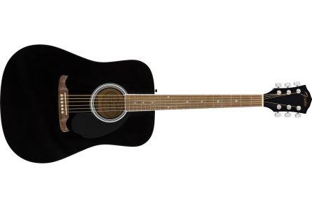 Fender FA-125 Dreadnought - Walnut Fingerboard - Black