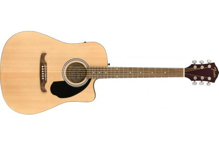 Fender FA-125CE Dreadnought - Walnut Fingerboard - Natural