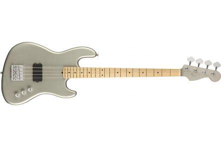 Fender Flea Signature Active Jazz Bass MN - Satin Inca Silver