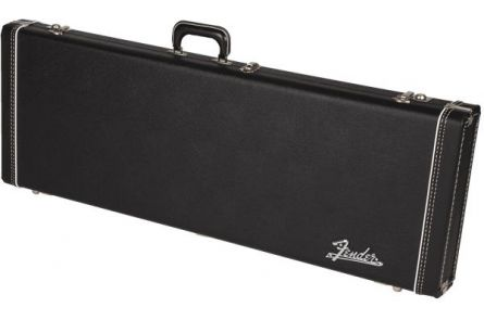 Fender G&G Deluxe Jaguar/Jazzmaster/Toronado/Jagmaster Hardshell Case - Black with Plush Interior