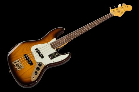Fender 75th Anniversary Commemorative Jazz Bass RW - 2-Color Bourbon Burst