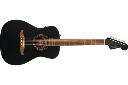 Fender Joe Strummer Campfire - Walnut Fingerboard - Matte Black