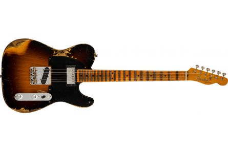 Fender Limited Edition '51 HS Telecaster Heavy Relic MN Wide-Fade 2-Color Sunburst