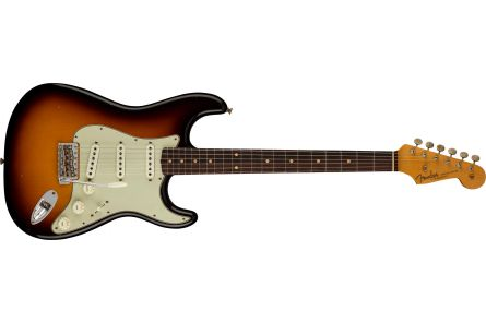 Fender Limited Edition '62/'63 Stratocaster Journeyman Relic RW - Faded Aged 3-Color Sunburst