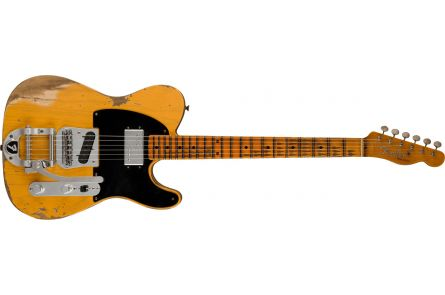 Fender Limited Edition Cunife Blackguard Tele Heavy Relic MN Aged Butterscotch Blonde