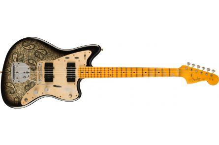 Fender Limited Edition Custom Jazzmaster Relic MN Aged Black Paisley