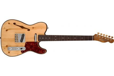 Fender Custom Shop Limited Edition Knotty Pine Tele Thinline - AAA Rosewood Fingerboard - Aged Natural