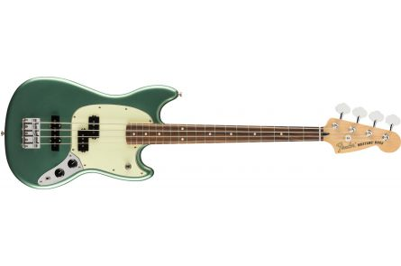 Fender Limited Edition Player Mustang Bass PJ PF - Sherwood Green Metallic