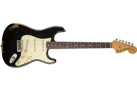 Fender Michael Landau Signature 1968 Relic Stratocaster - Round-Laminated RW Black