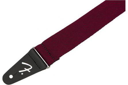 Fender Modern Tweed Strap - Black/Red 2