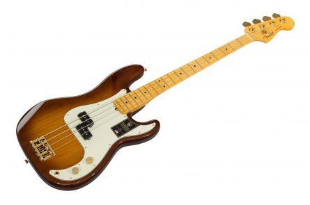Fender 75th Anniversary Commemorative Precision Bass MN - 2-Color Bourbon Burst