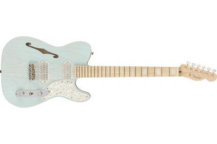 Fender Parallel Universe II Tele Mágico MN Transparent Daphne Blue