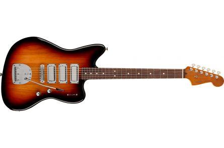 Fender Parallel Universe Volume II Spark-O-Matic Jazzmaster MN 3-Color Sunburst