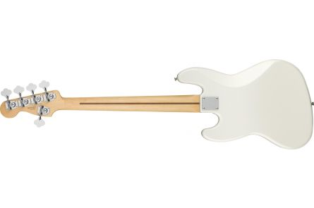 Fender Player Jazz Bass V - Pau Ferro Fingerboard - Polar White