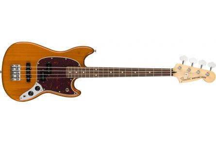 Fender Player Mustang Bass PJ - Pau Ferro - Aged Natural