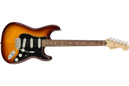 Fender Player Stratocaster Plus Top - Pau Ferro Fingerboard - Tobacco Sunburst
